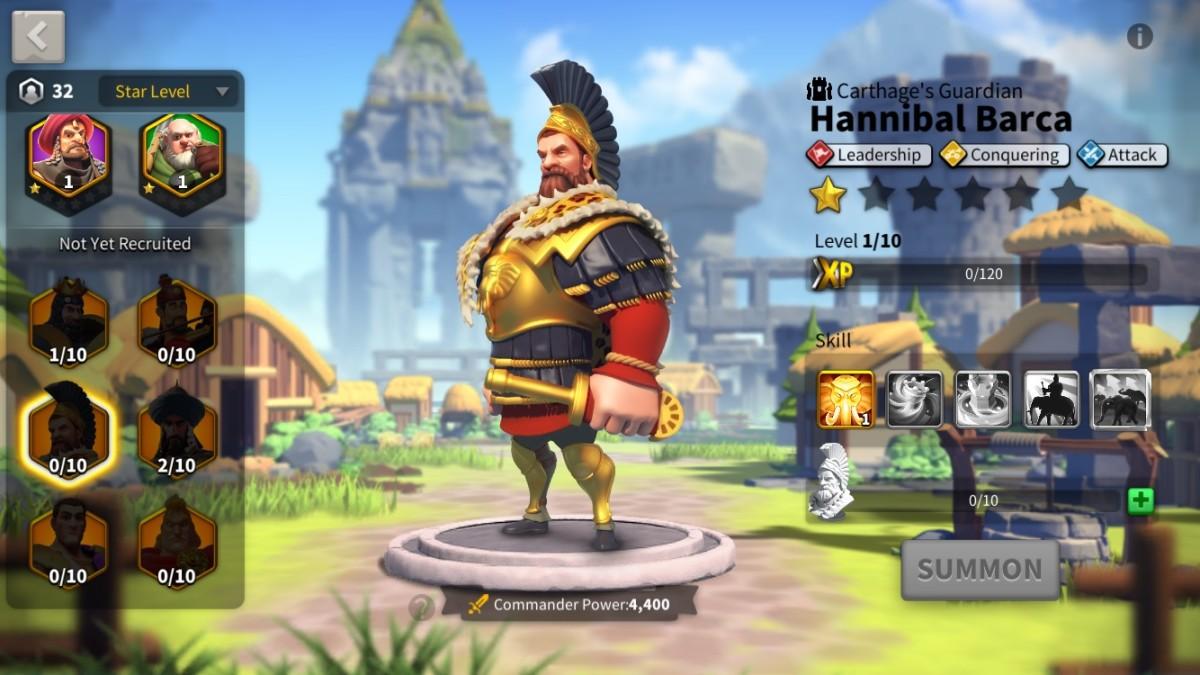 Hannibal Barca Profile Page