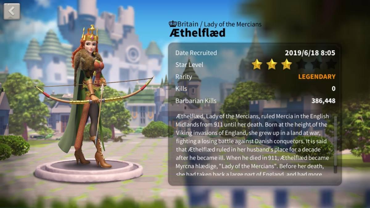 Aethelfaed Profile Page