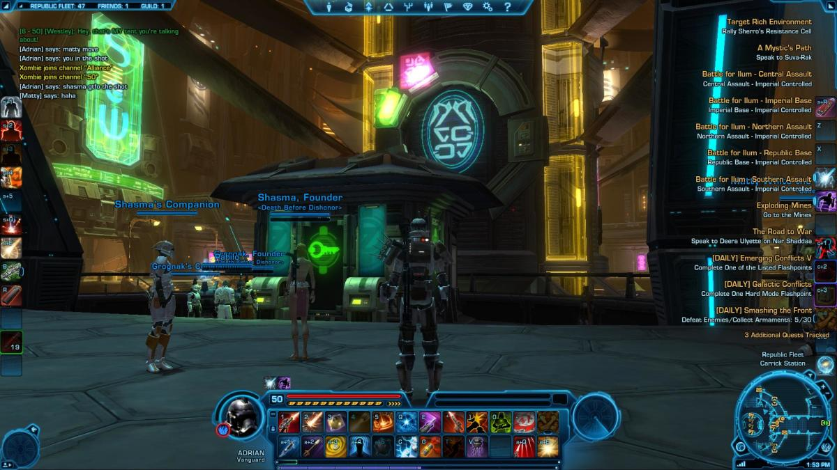 Another screenshot of the game in action.