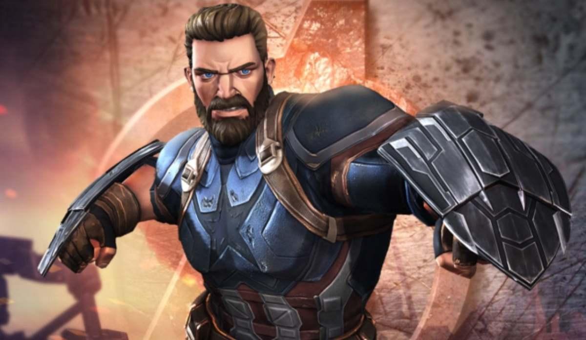 "Captain America (Infinity War) in ""MCoC"""