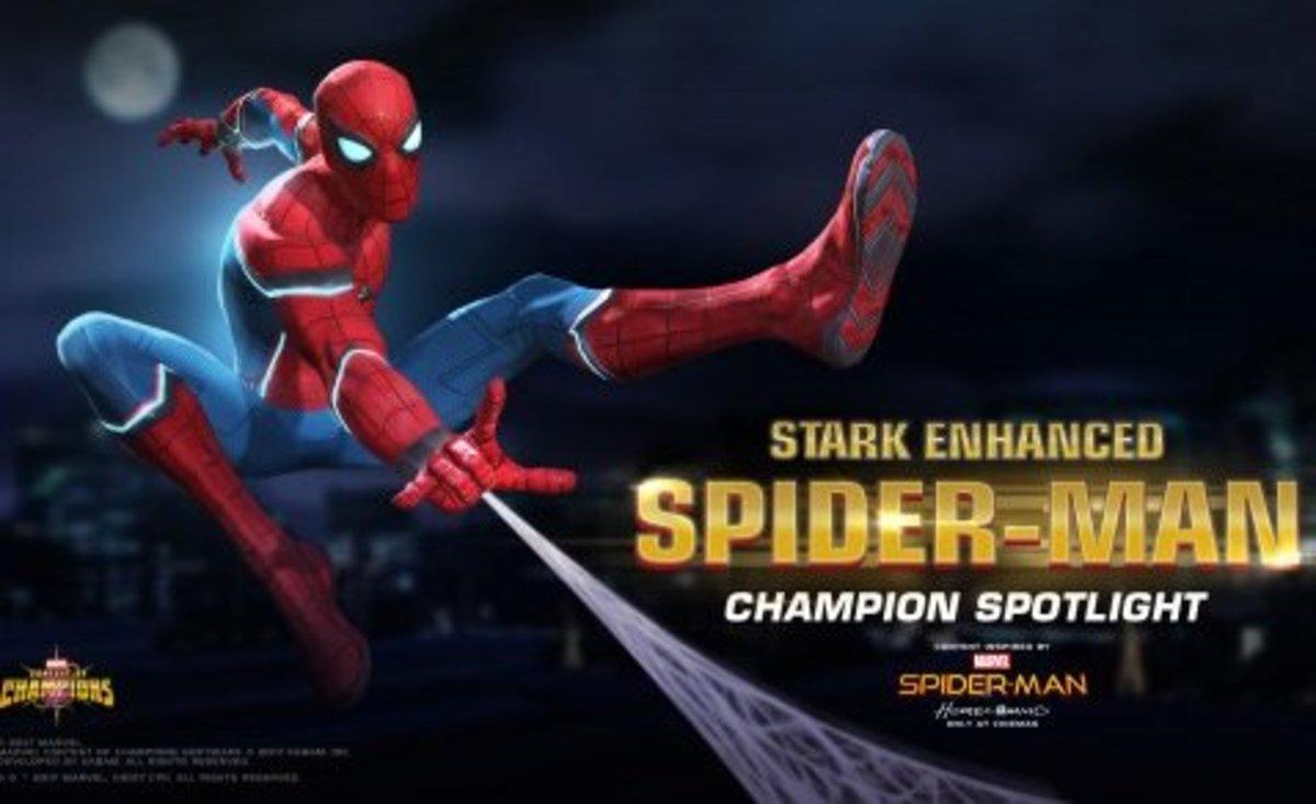 """Spider-Man (Stark Enhanced) in """"MCoC"""""""