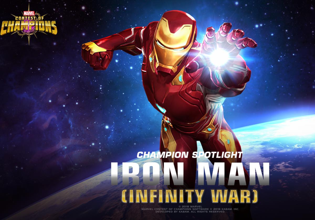 "Iron Man (Infinity War) in ""MCoC"""