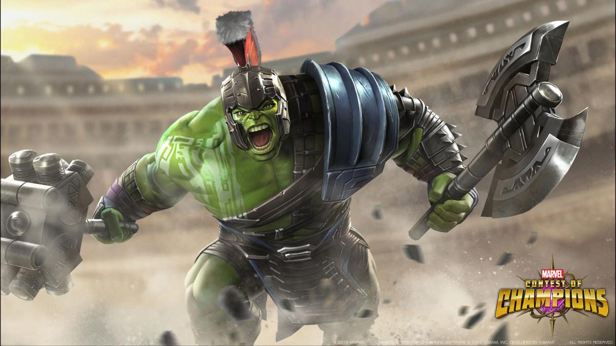 "Hulk (Ragnarok) in ""MCoC"""