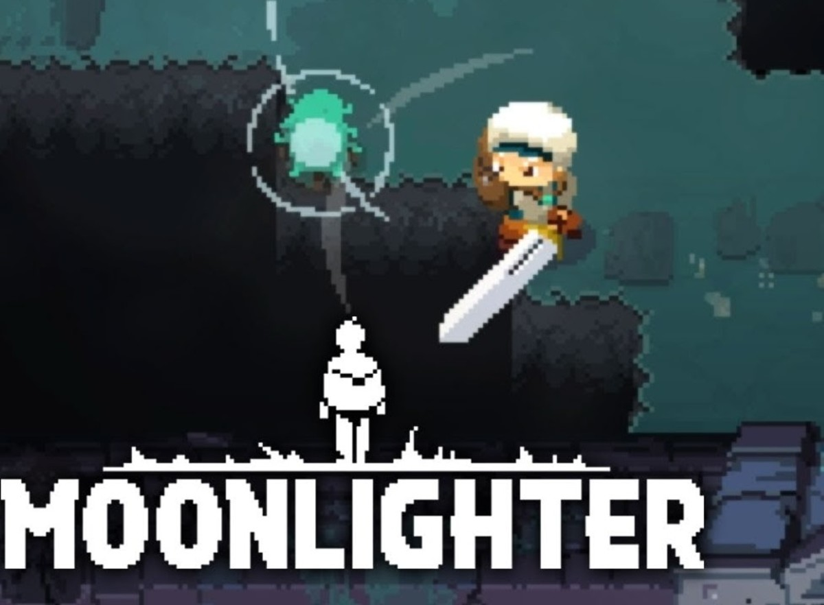 "Big Sword in ""Moonlighter"""