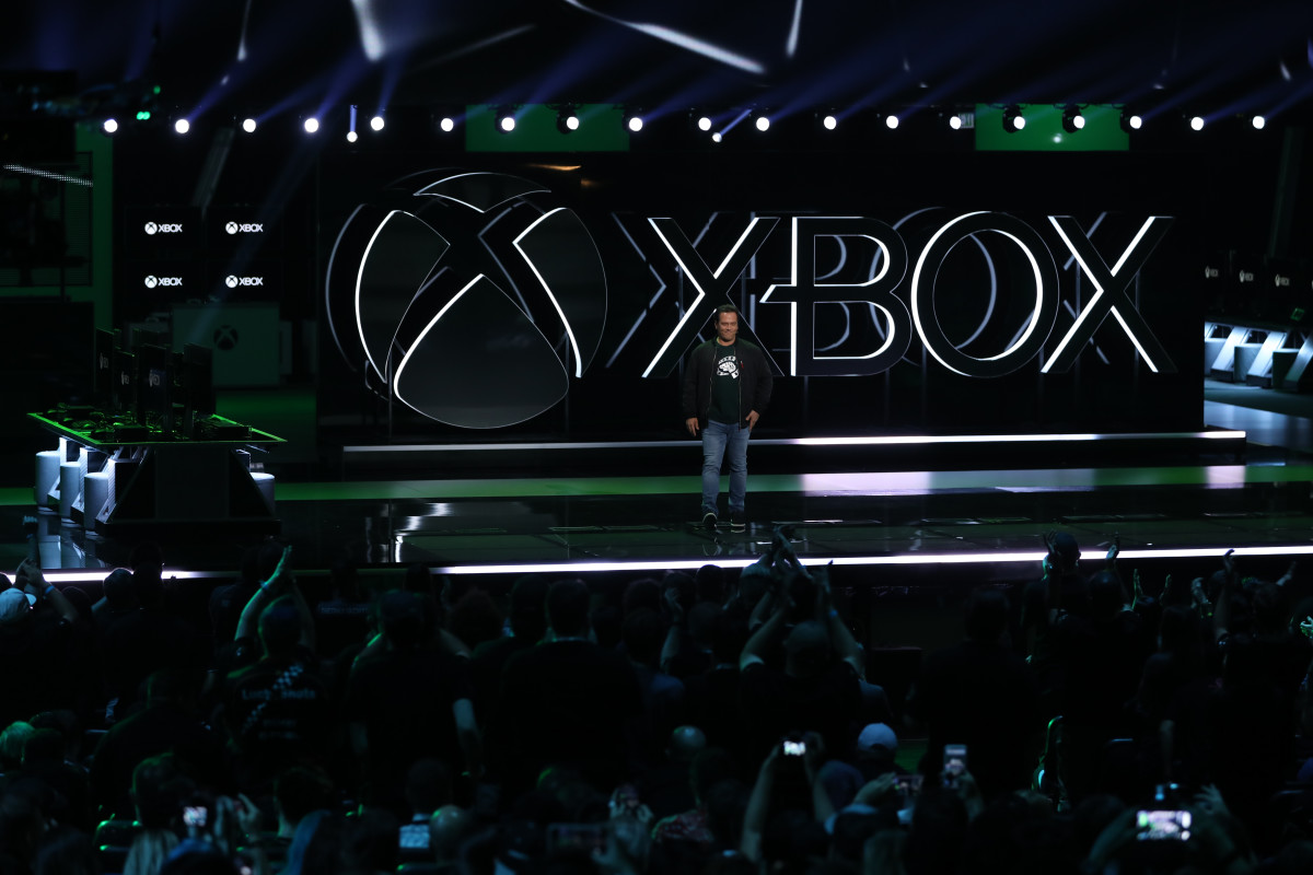 An Xbox event at E3.