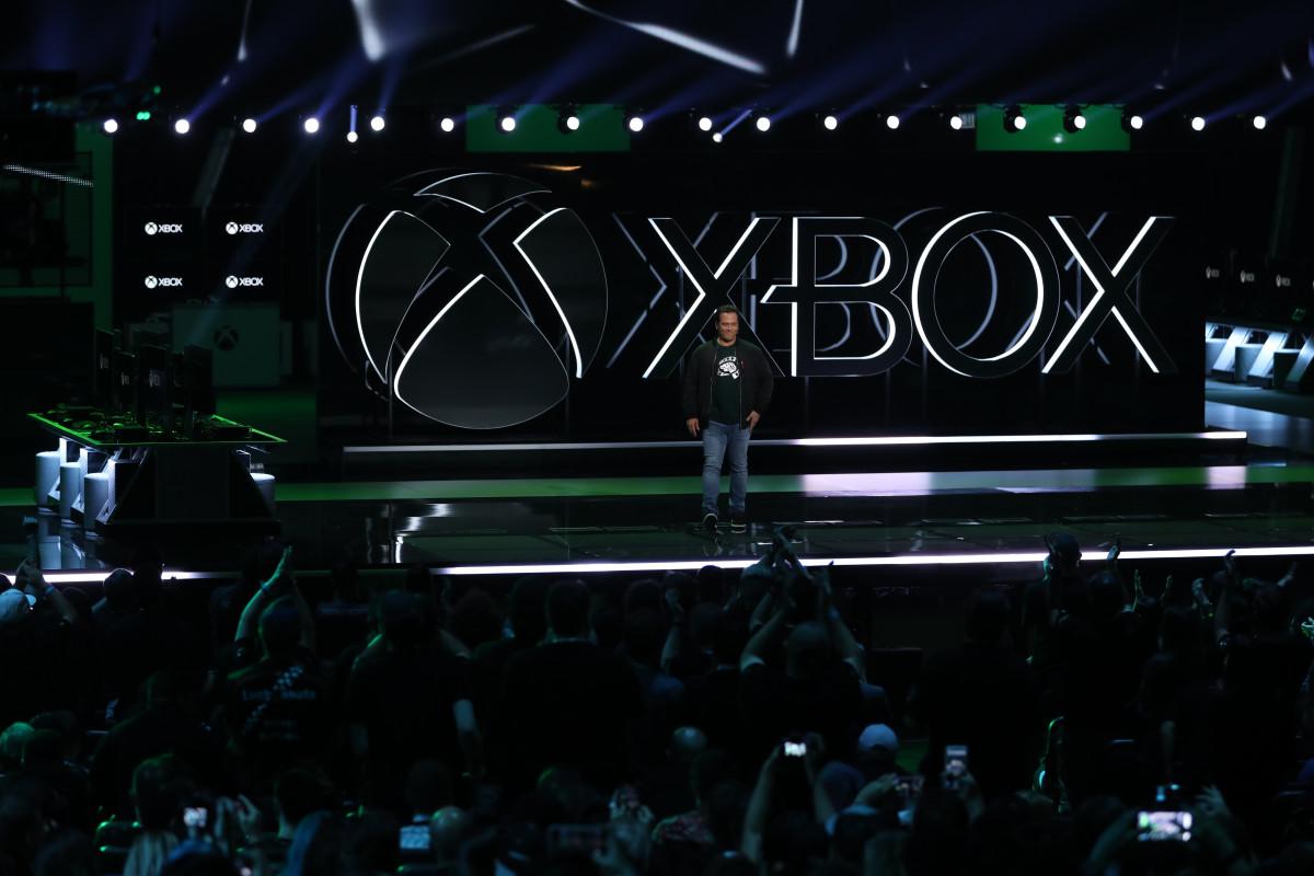An Xbox event at E3.