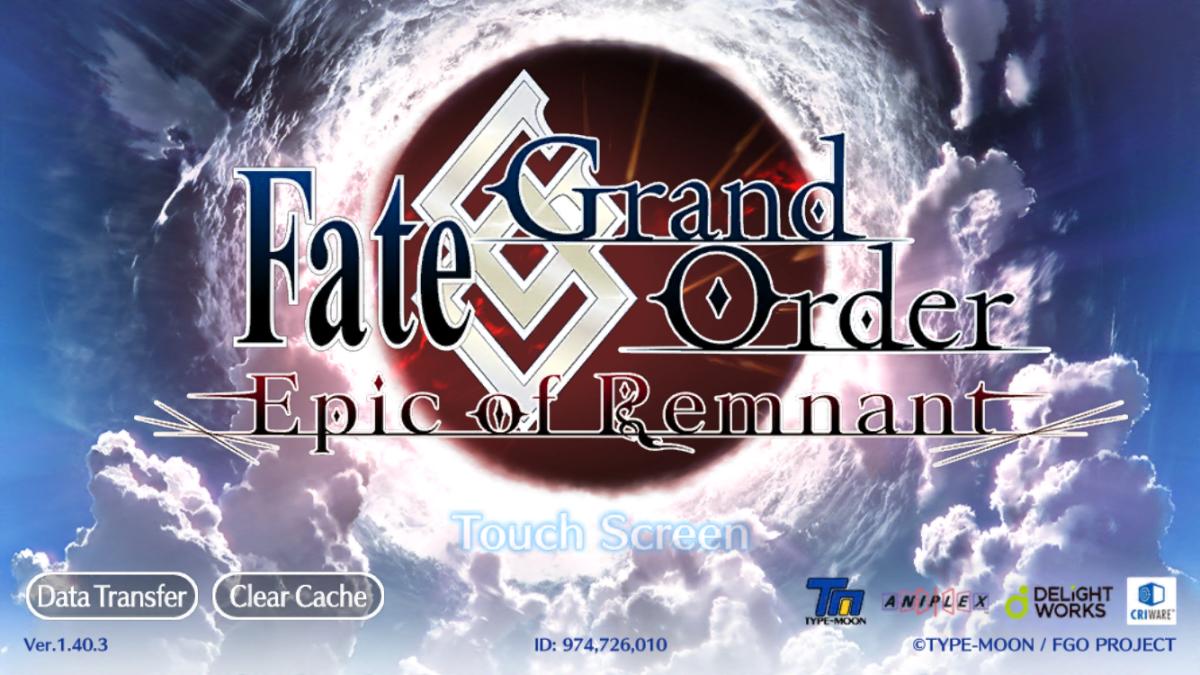 """Fate/Grand Order"" Loading Screen"