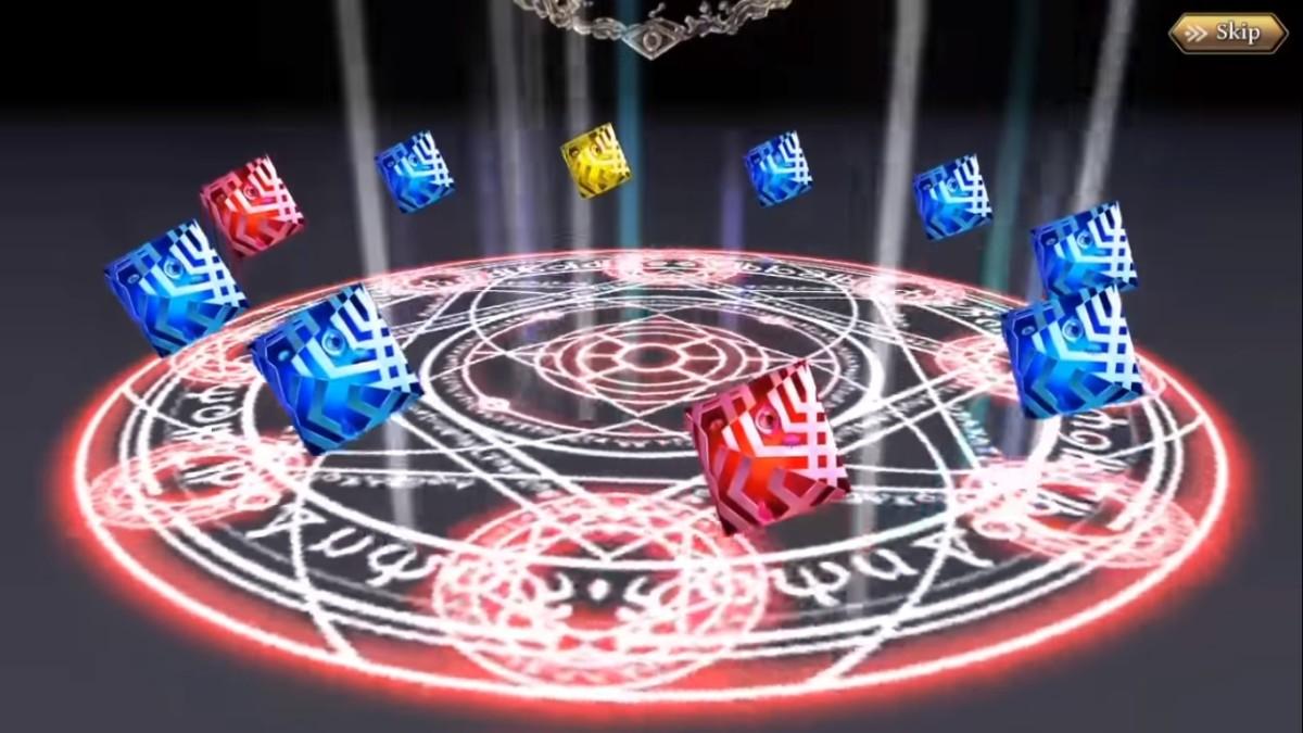 "10-unit summon in ""The Alchemist Code."""