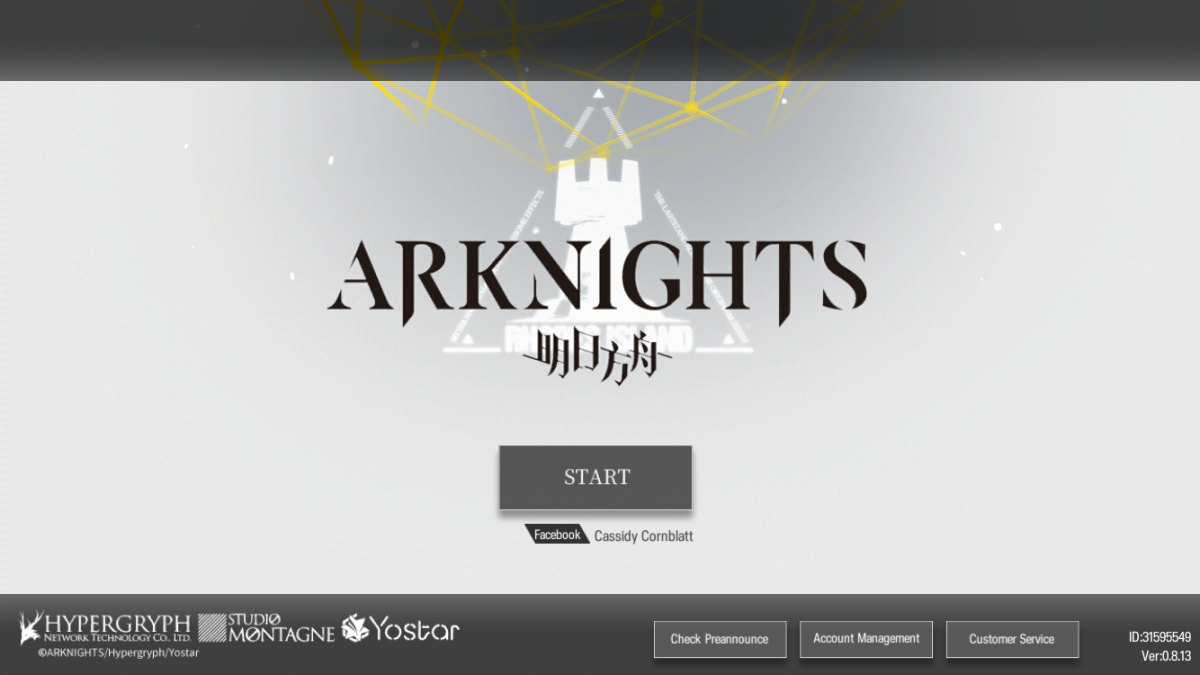 """Arknights"" Loading Screen"