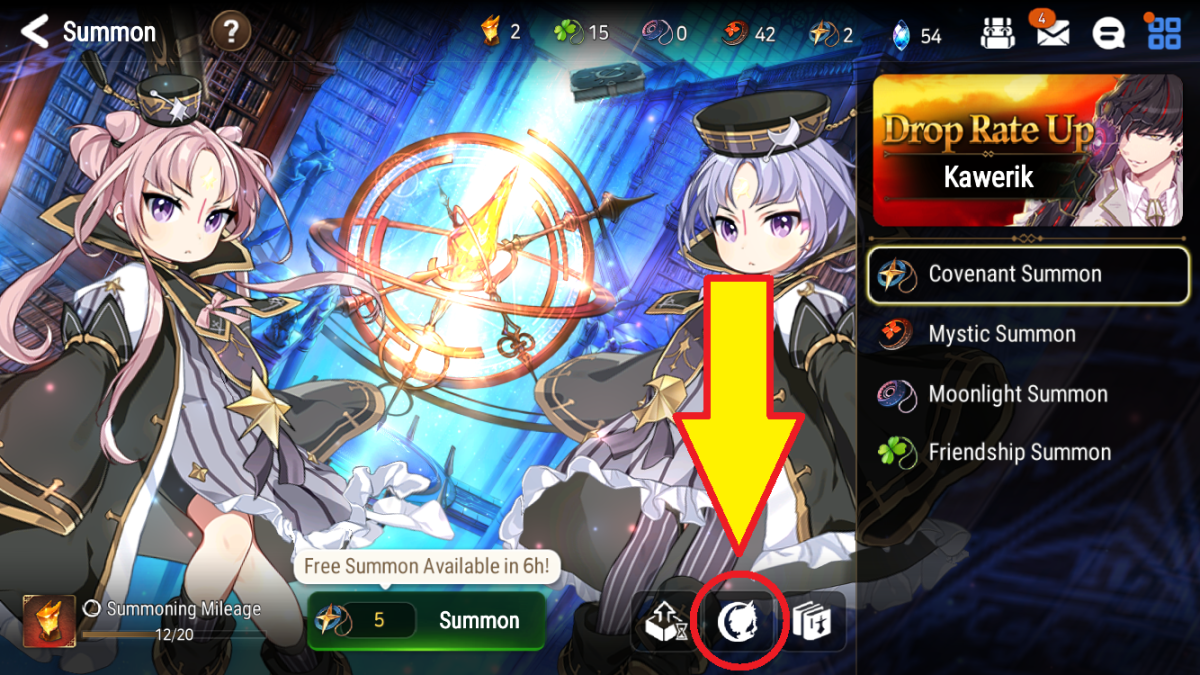 """Finding Drop Rates for """"Epic Seven"""" Summons"""