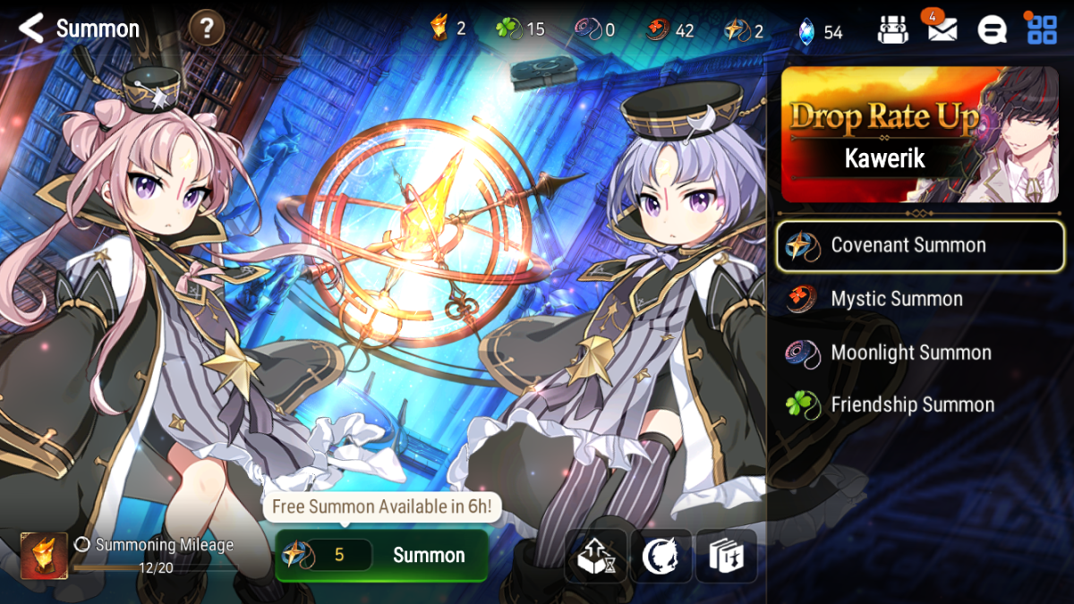 """""""Epic Seven"""": Summons"""
