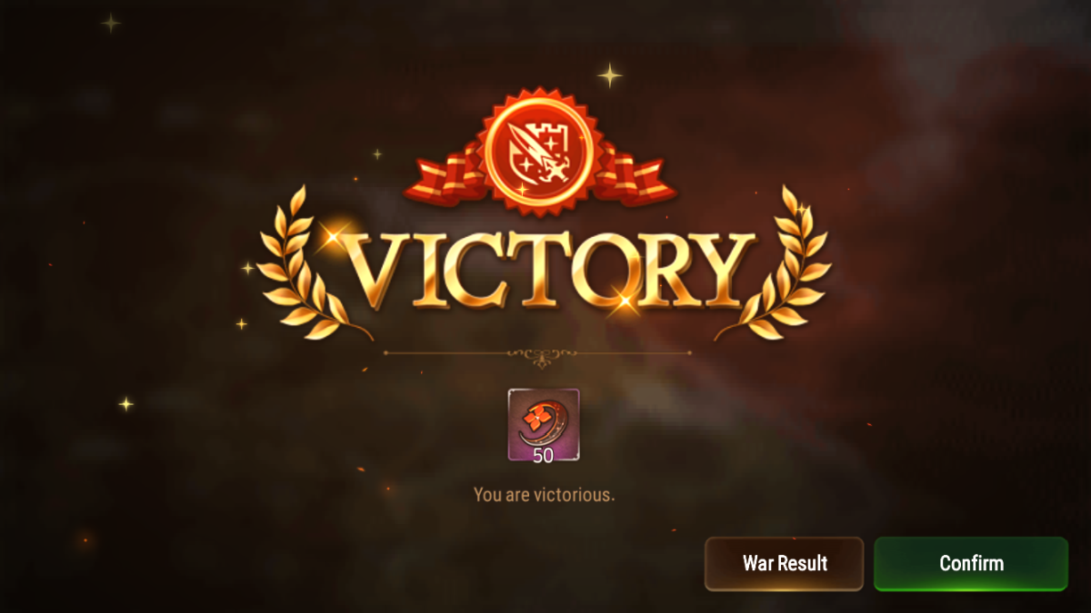 Guild War Mystic Medal Reward