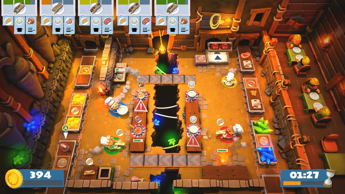"""Overcooked! 2"" is hectic, addictive fun."