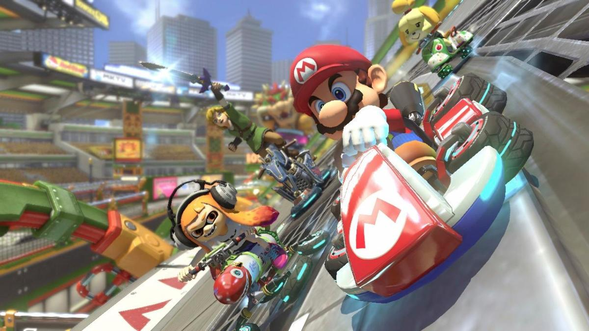 """Mario Kart 8 Deluxe"" is definitely a winner."