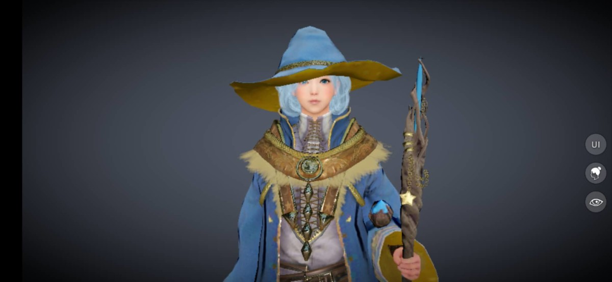 "Witch Class Profile in ""Black Desert Online Mobile"""