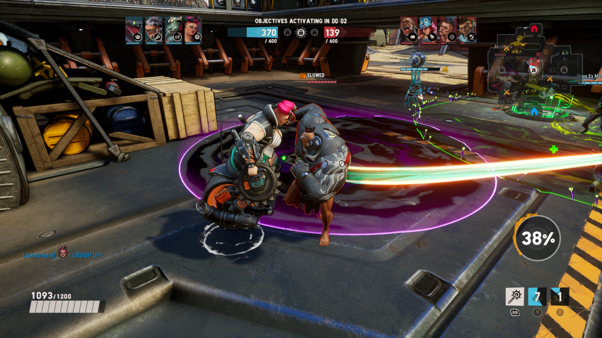 A screenshot of the gameplay.