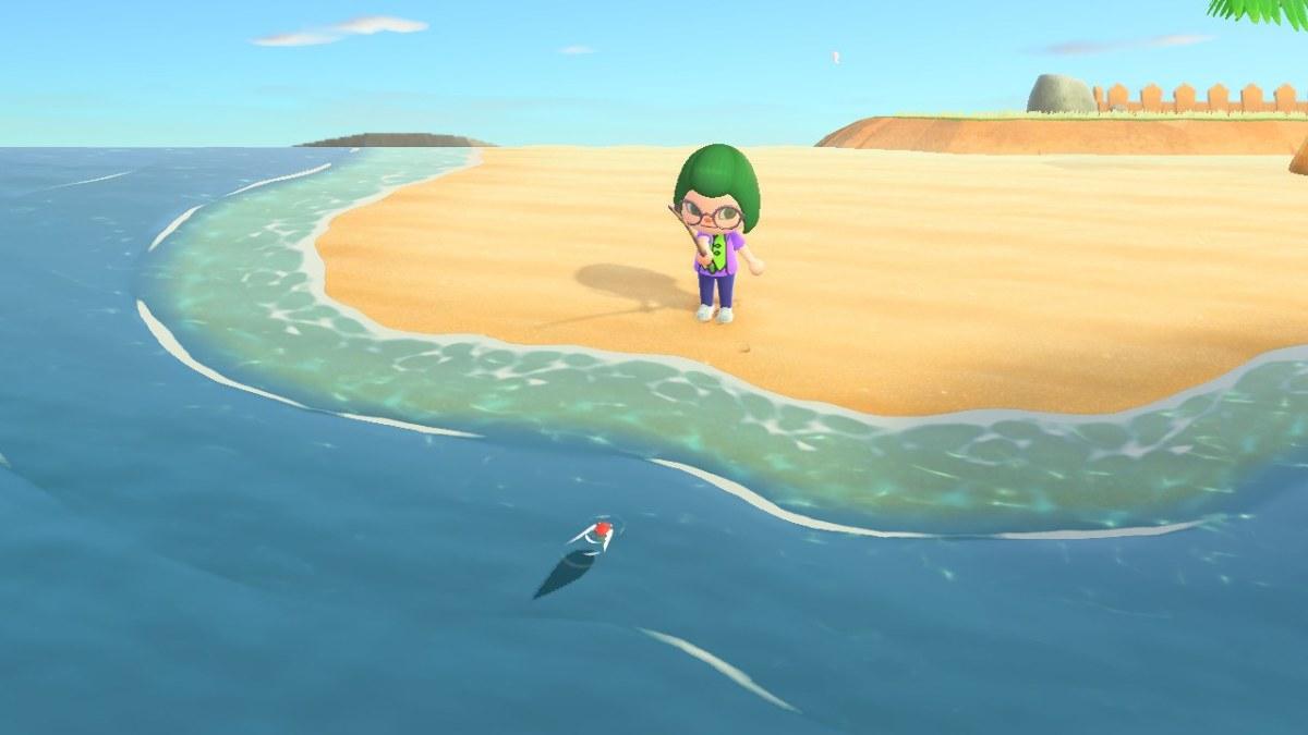 Fishing in Animal Crossing: New Horizons