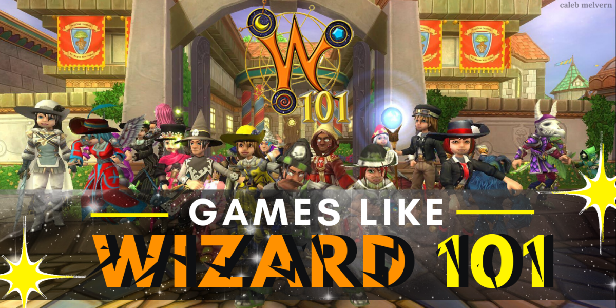 """10 Games Like """"Wizard101"""""""