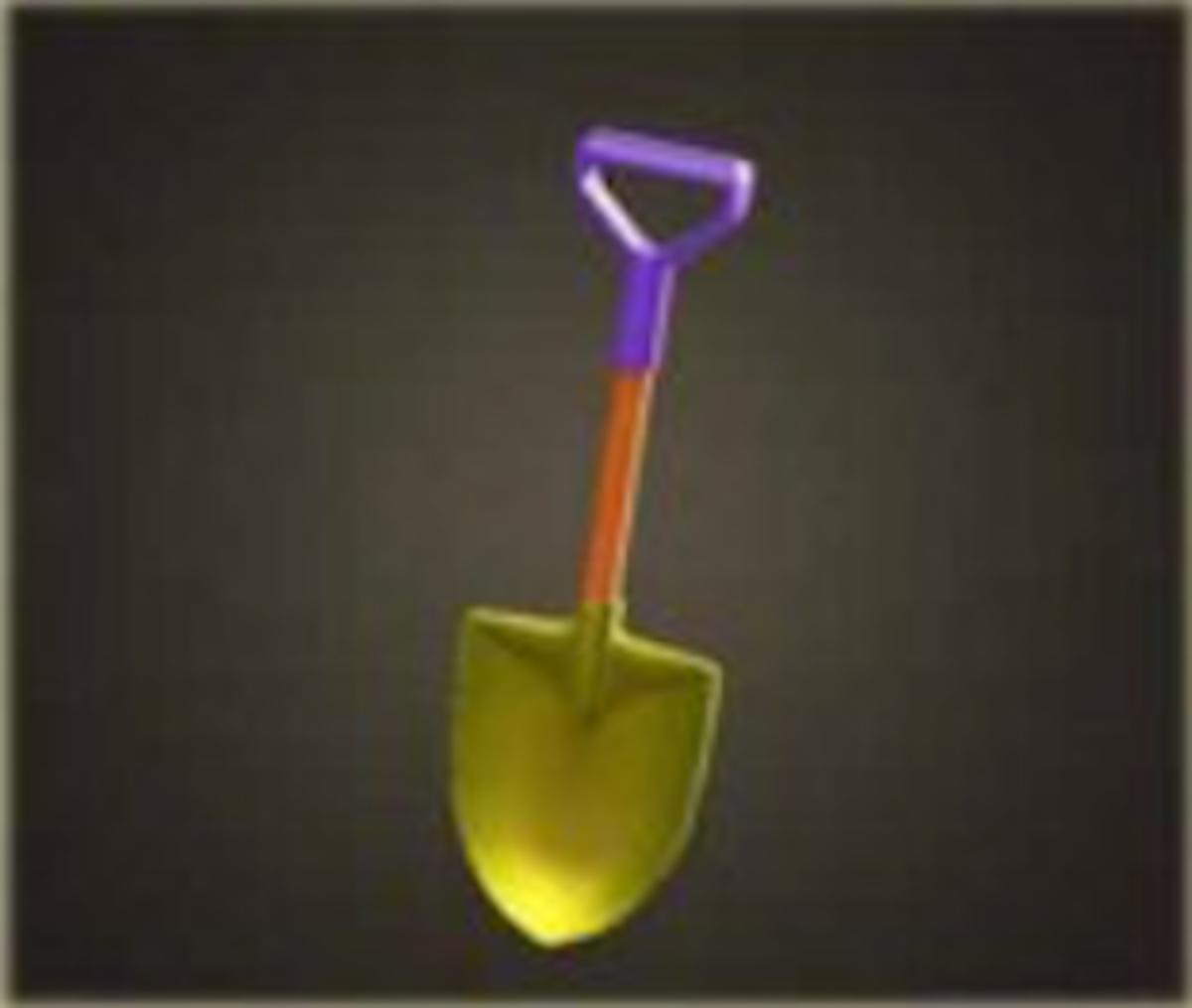 The Golden Shovel