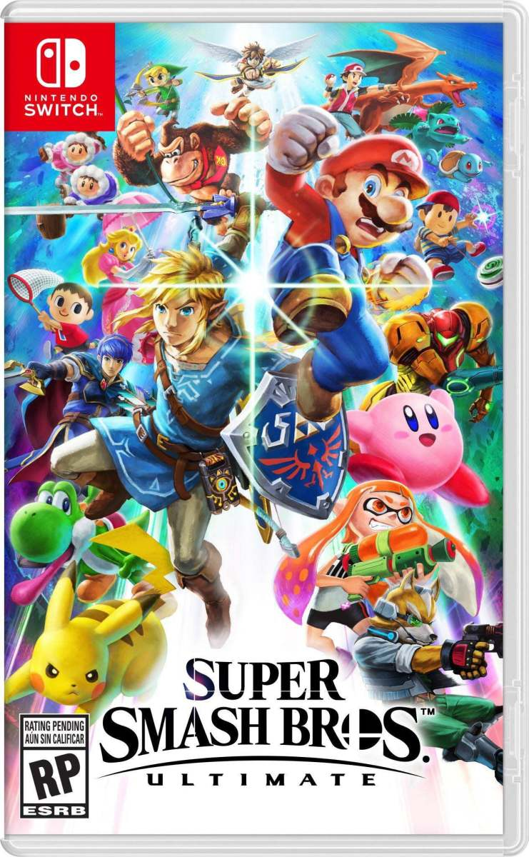 """Super Smash Bros. Ultimate"" Cover Art"