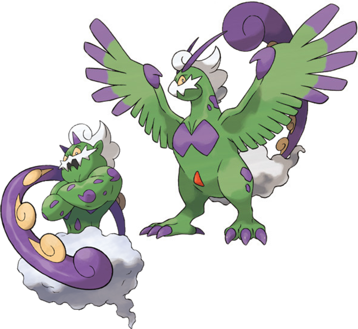 Tornadus Incarnate and Therian Forme