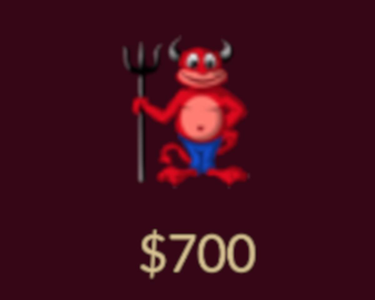The devil item.