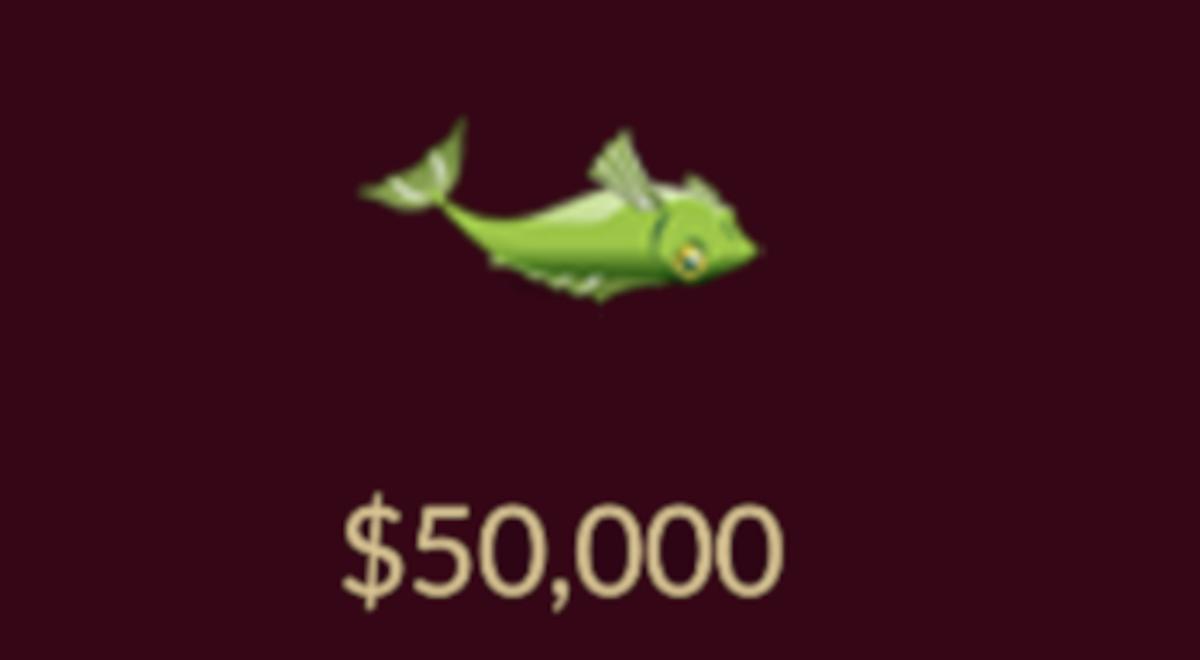 The fish item.