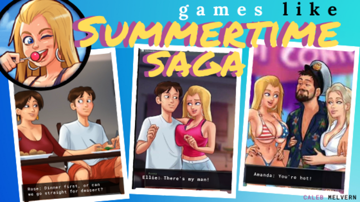 "If you enjoyed ""Summertime Saga"", these games should give you a good time too."