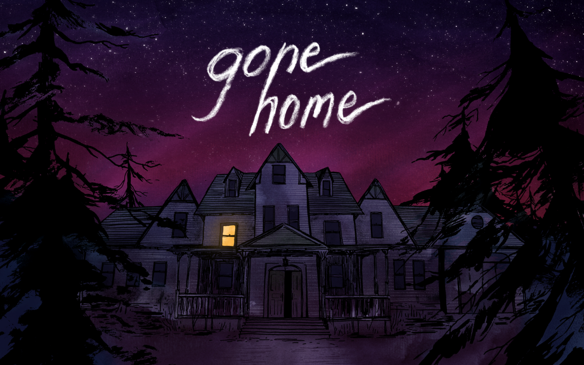 """Gone Home"" is a non violent game w/a a tense atmosphere, but  no in-game struggle"