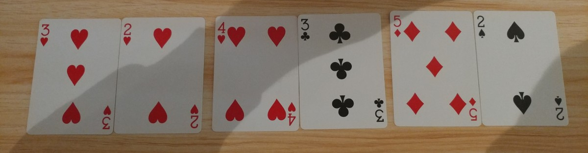 "These are hands you want to play in ""Poker Heat"" Reverse."