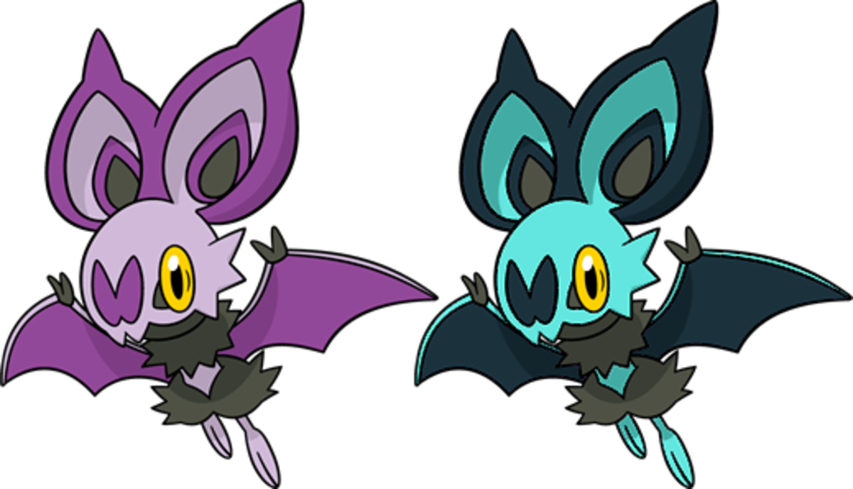 Regular VS Shiny Noibat