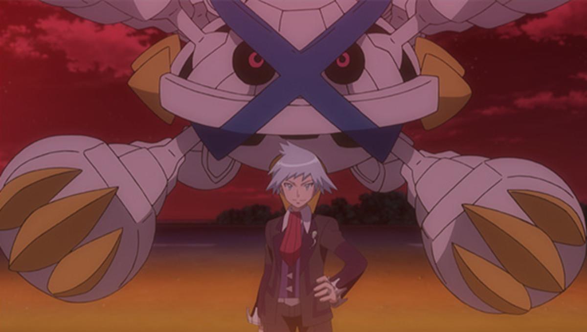 Steven and Mega Metagross