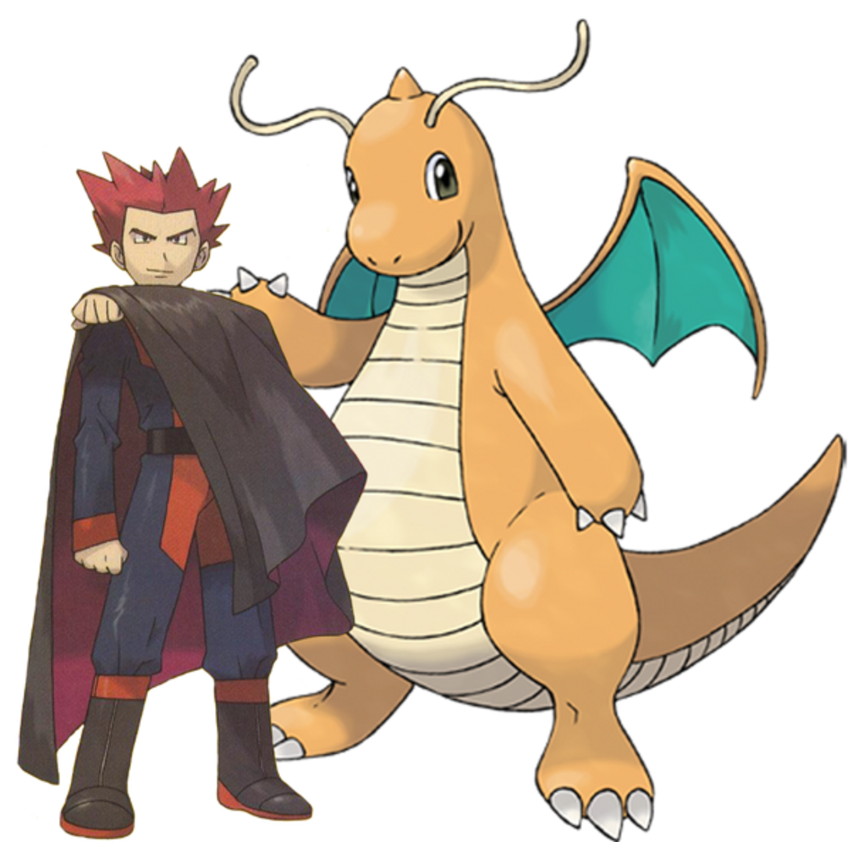 Lance and Dragonite