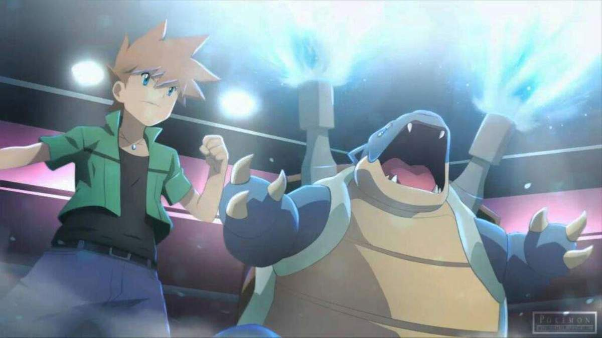 Blue and Blastoise