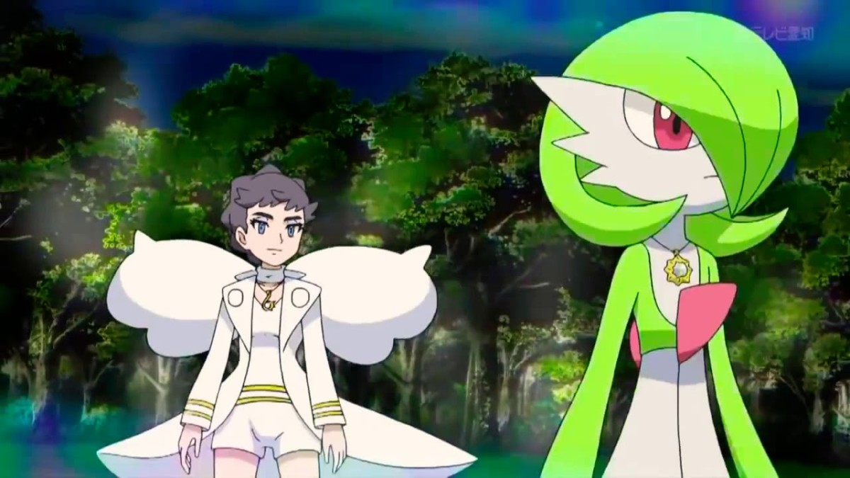 Diantha and Gardevoir
