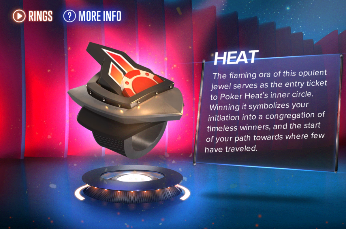 "The ""Poker Heat"" Heat ring."