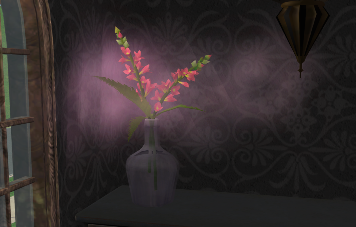 A snapdragon releasing its magical mood-boosting mist.