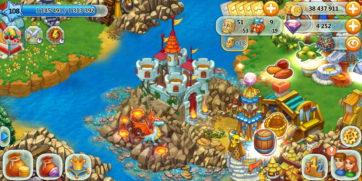 "To access the dragon race tasks in ""Harvest Land"" click the dragon next to the clan castle."