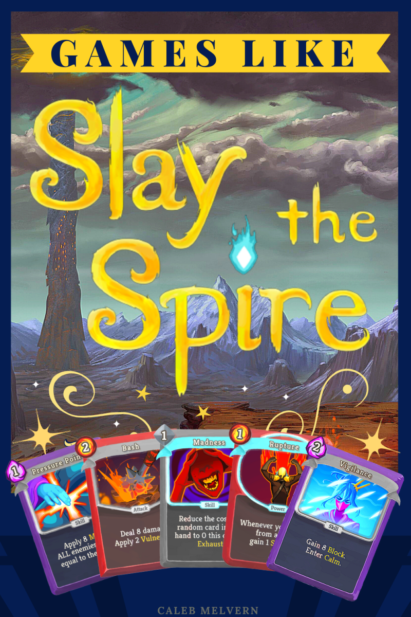"""These games like """"Slay the Spire"""" will keep you busy figuring out card synergies."""