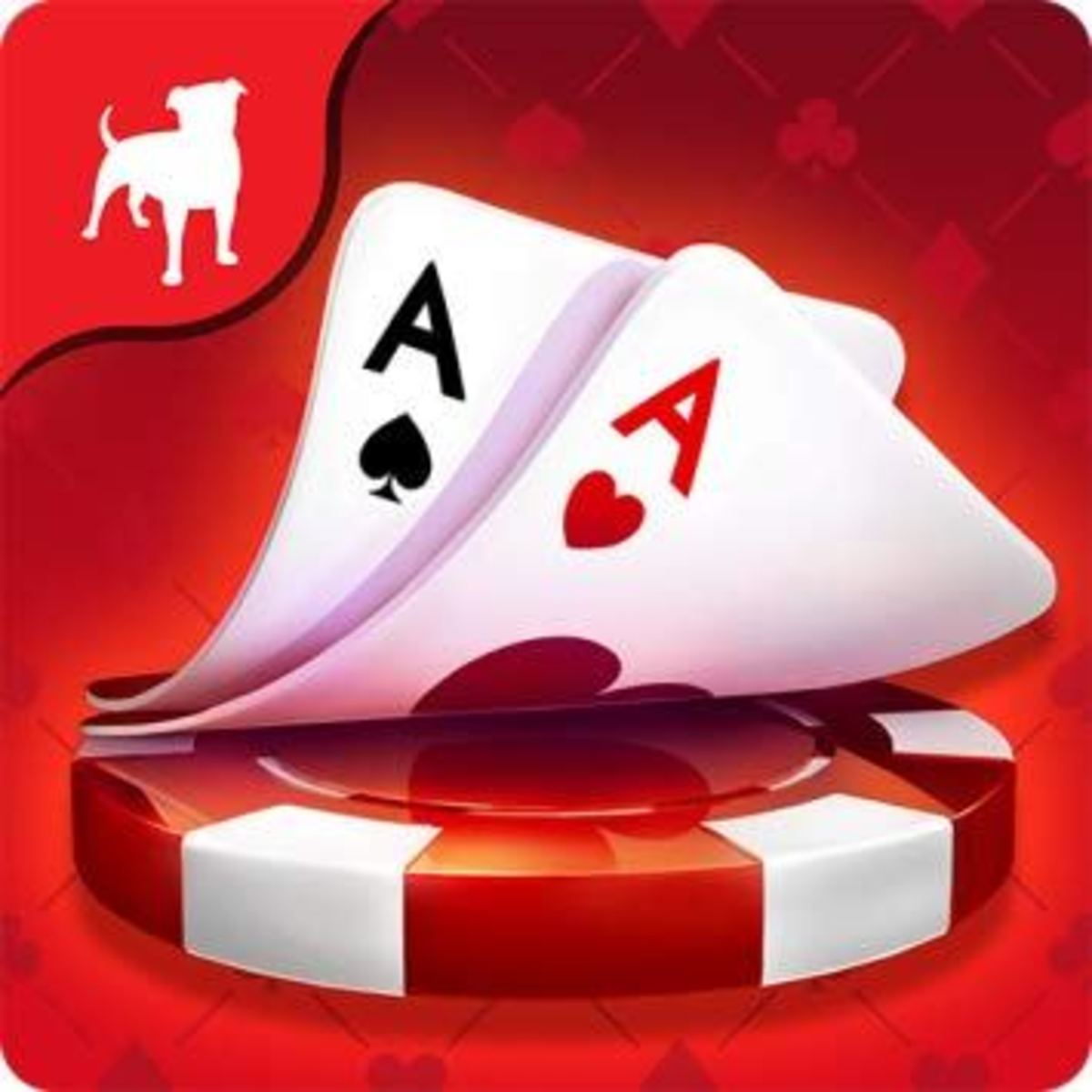 "The ""Zynga Poker"" app icon."