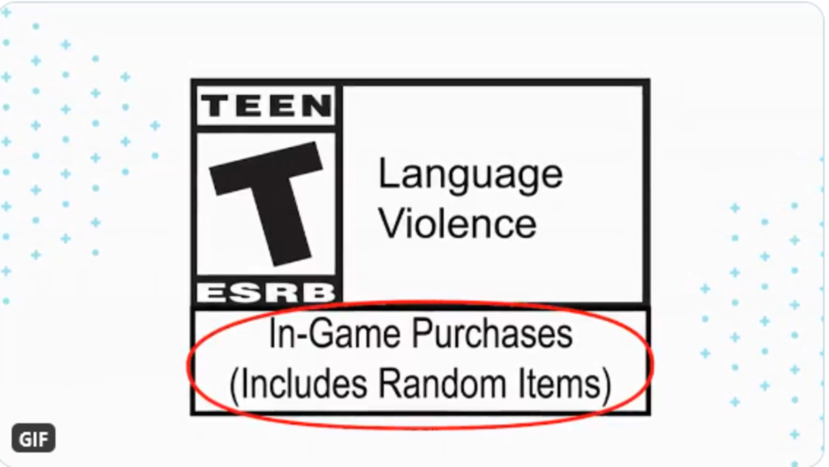 The ESRB proving it isn't fit for purpose by saying gambling is fine in a Teen-rated game.
