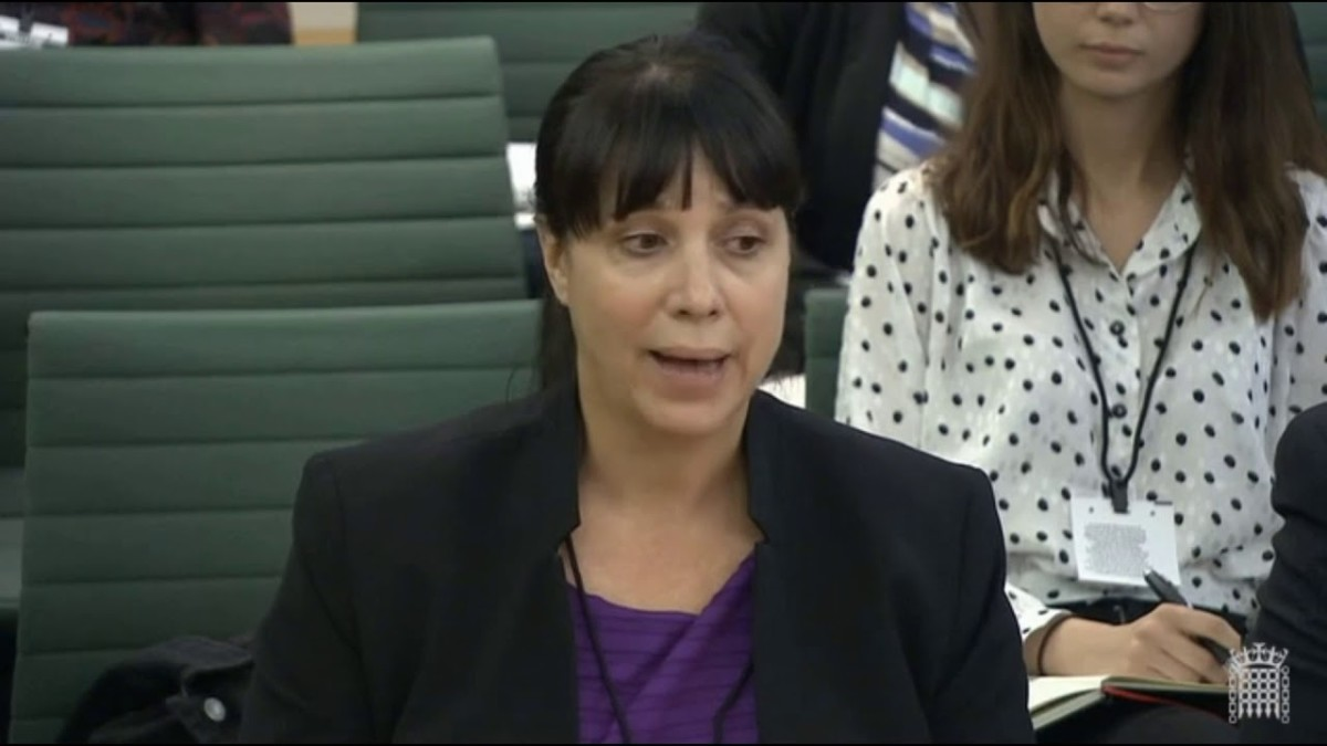 "Kerry ""surprise mechanics"" Hopkins of Electronic Arts at UK Parliament, on a loot box hearing"