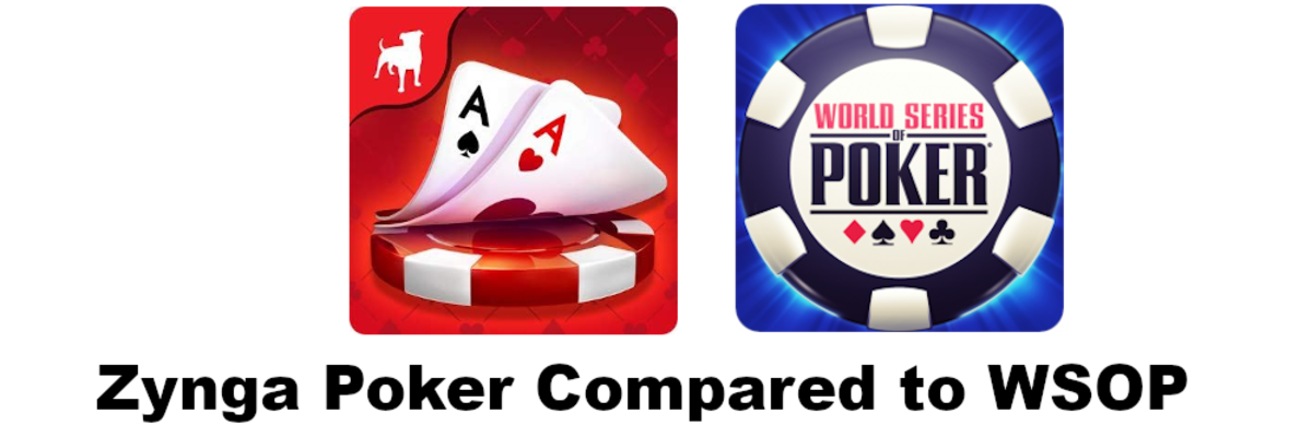 """Zynga Poker"" Compared to ""WSOP"""