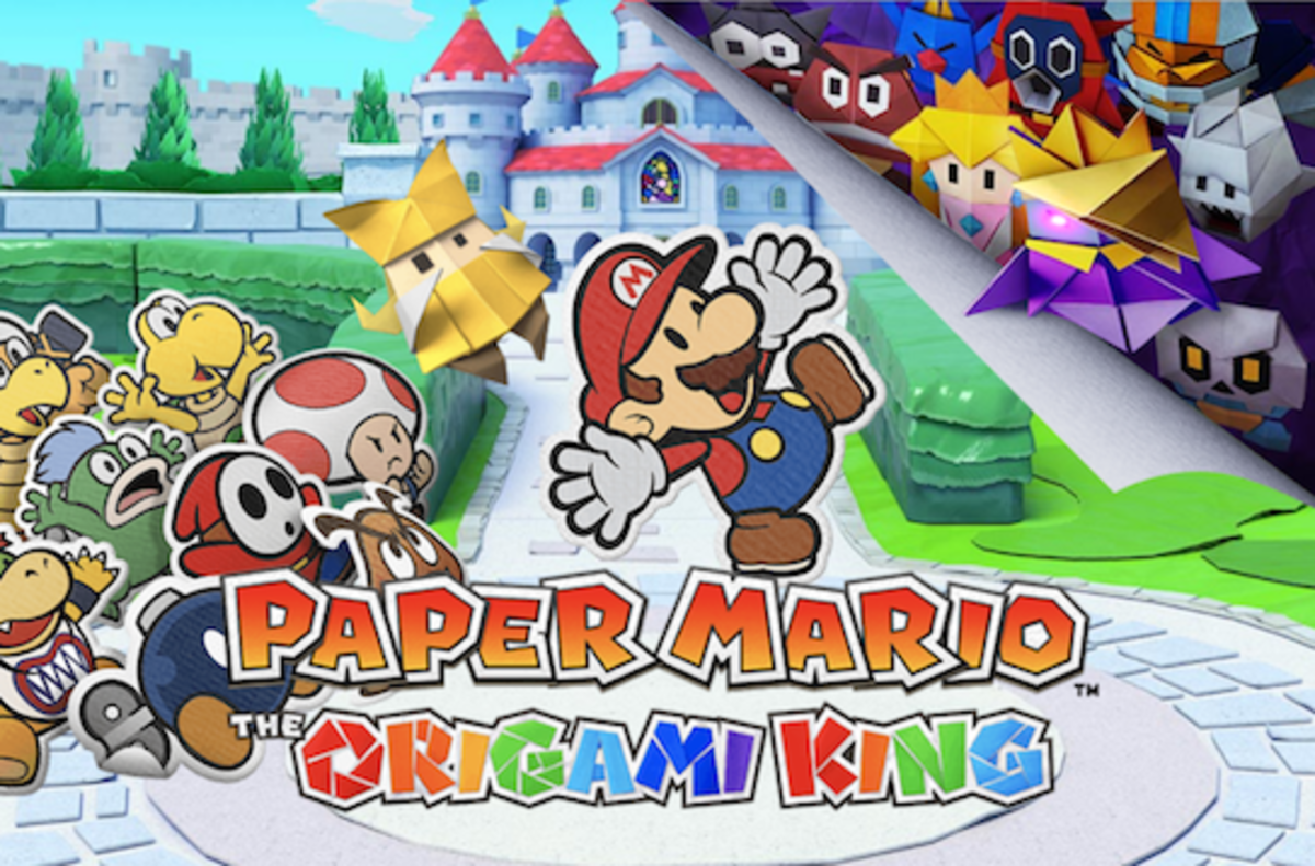 """""""Paper Mario: The Origami King"""""""