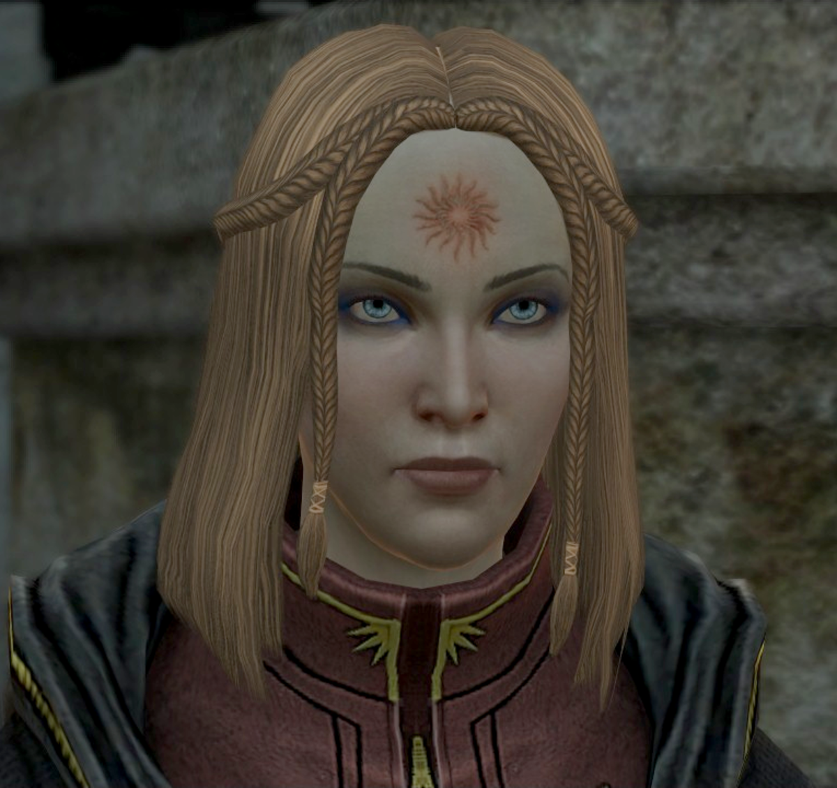 """A Tranquil mage from """"Dragon Age: 2."""""""