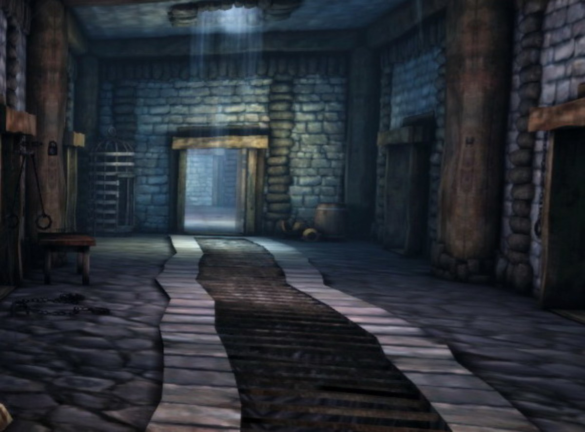 The Redcliffe Dungeons where Jowan is encountered.