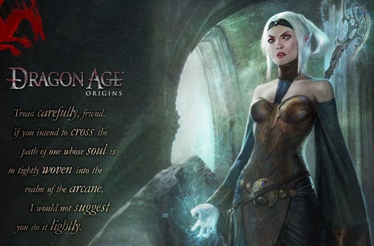 """""""Dragon Age: Origins"""" (2009): The Mage Warden, An Analysis"""