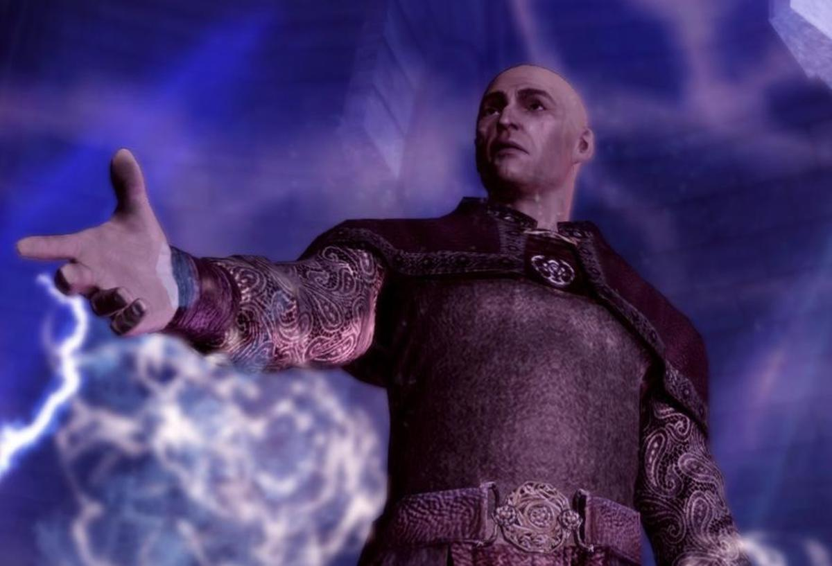 "Uldred as he appears in ""Dragon Age: Origins."""
