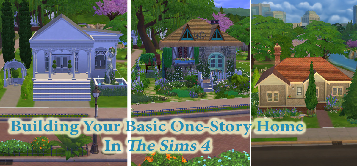 """""""The Sims 4"""" Building for Beginners: Building Your First House"""