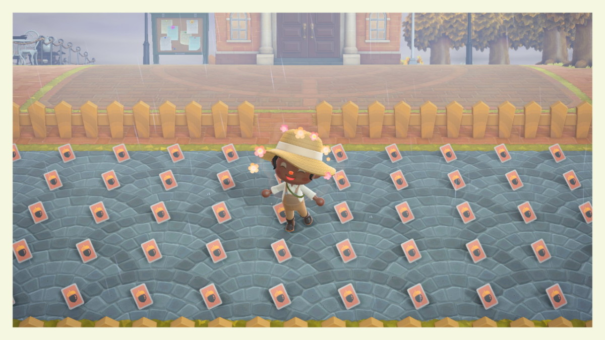 "I occasionally host ""DIY Yard Sales"" on the ""Animal Crossing"" communities on Facebook and Reddit in order to get rid of spare DIY cards."